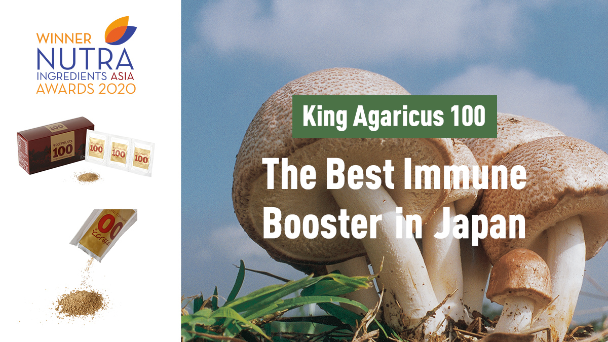 King Agaricus100